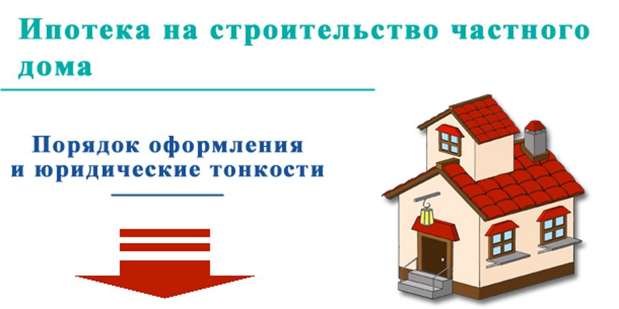 ипотека в Сбербанке на строительство частного дома